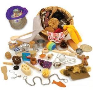 material cesto de los tesoros